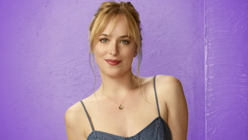 Dakota Johnson Quad HD Background