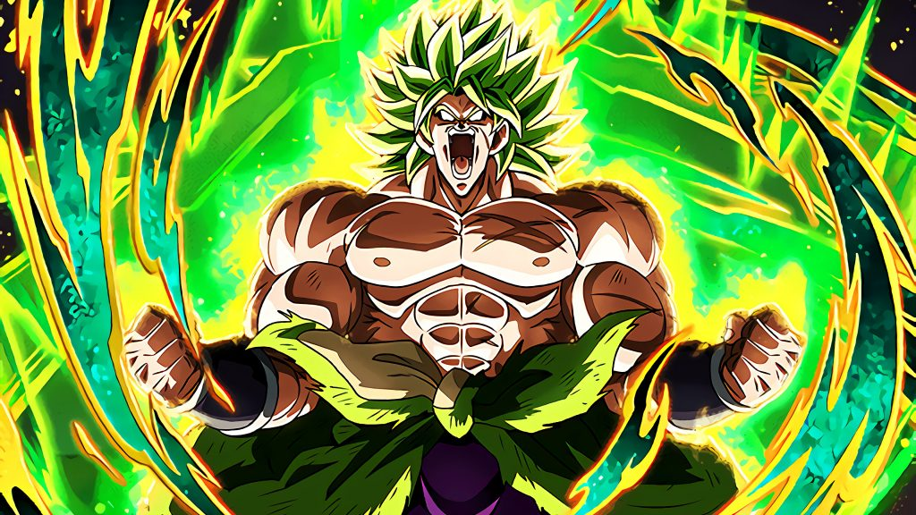 Dragon Ball Super: Broly HD 4K UHD Wallpaper