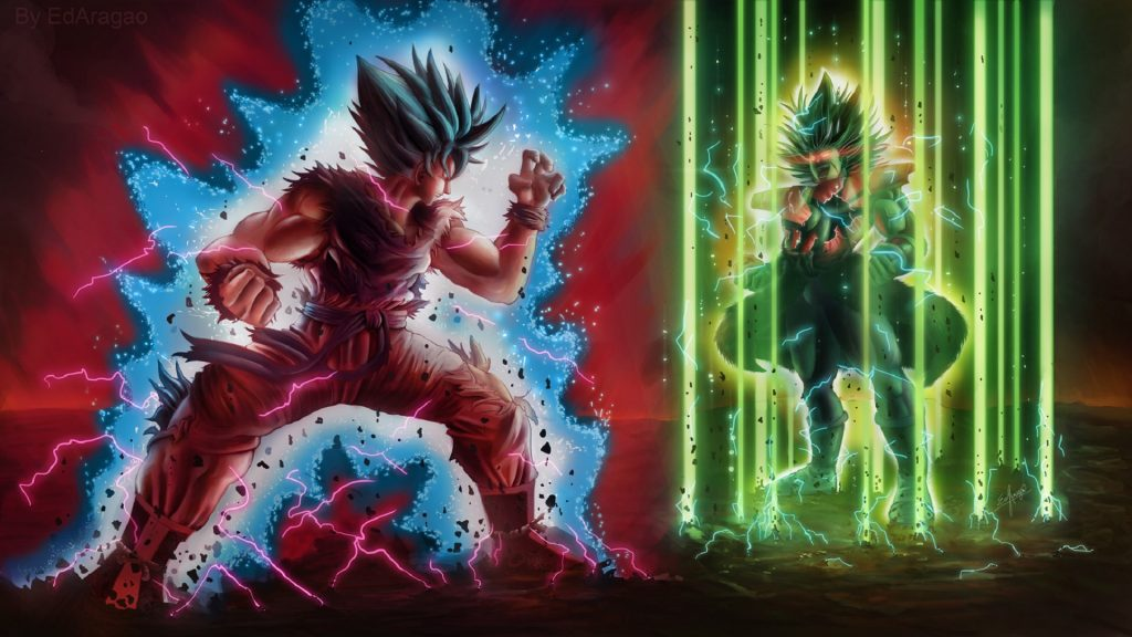 Dragon Ball Super: Broly HD Full HD Wallpaper