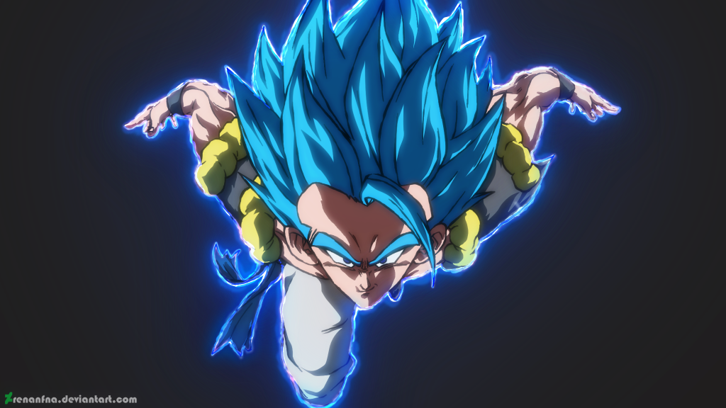 Dragon Ball Super: Broly HD Dual Monitor Wallpaper