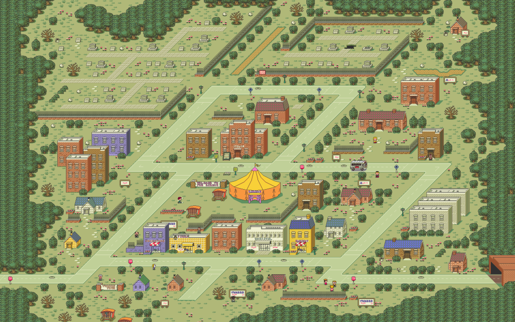 Earthbound Widescreen Wallpaper