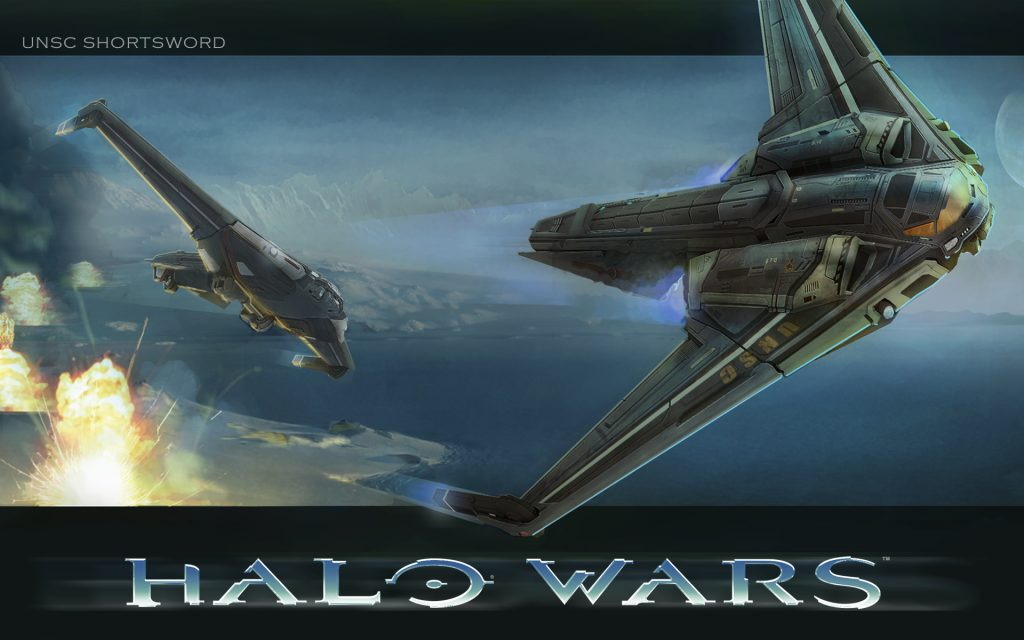Halo Widescreen Background