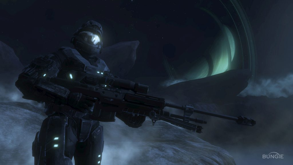 Halo Full HD Background
