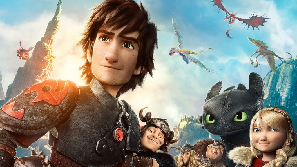 How To Train Your Dragon 2 Full HD Background
