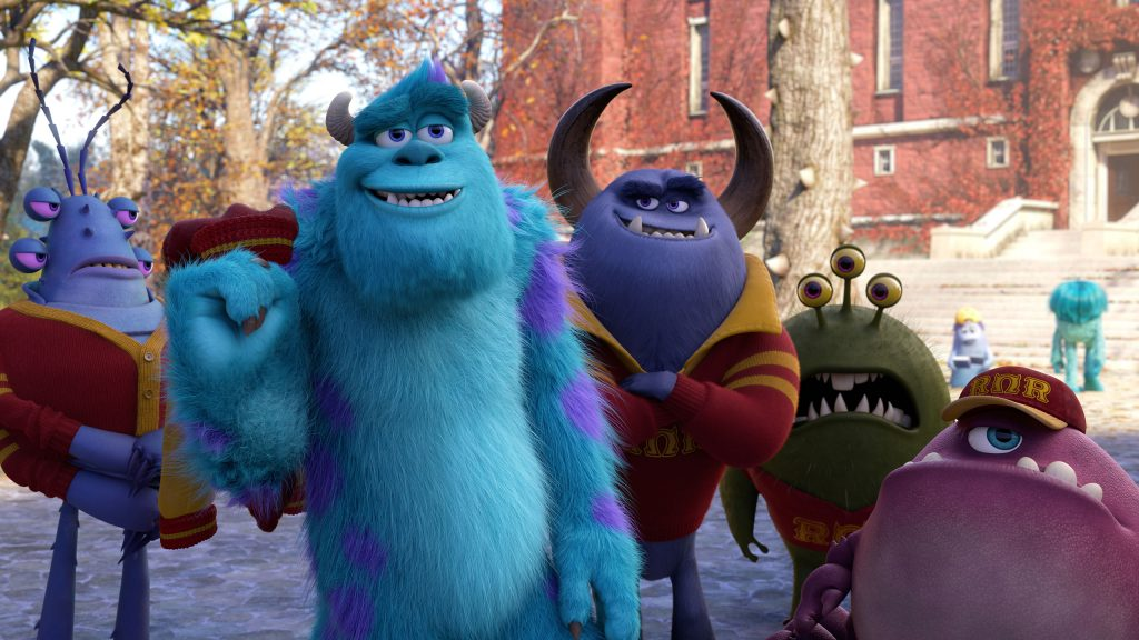 Monsters University Quad HD Background