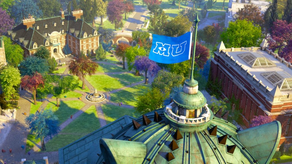 Monsters University Background