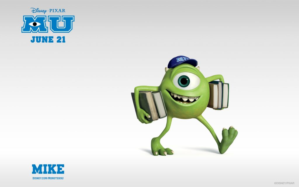 Monsters University Widescreen Background