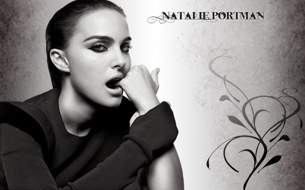 Natalie Portman HD Widescreen Background