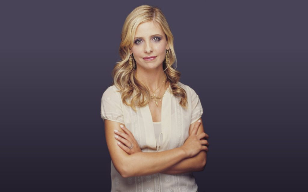 Sarah Michelle Gellar Widescreen Wallpaper