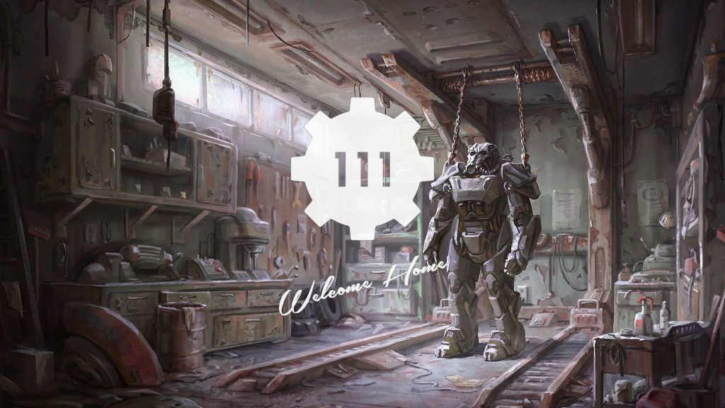 Fallout 4 Full HD Background