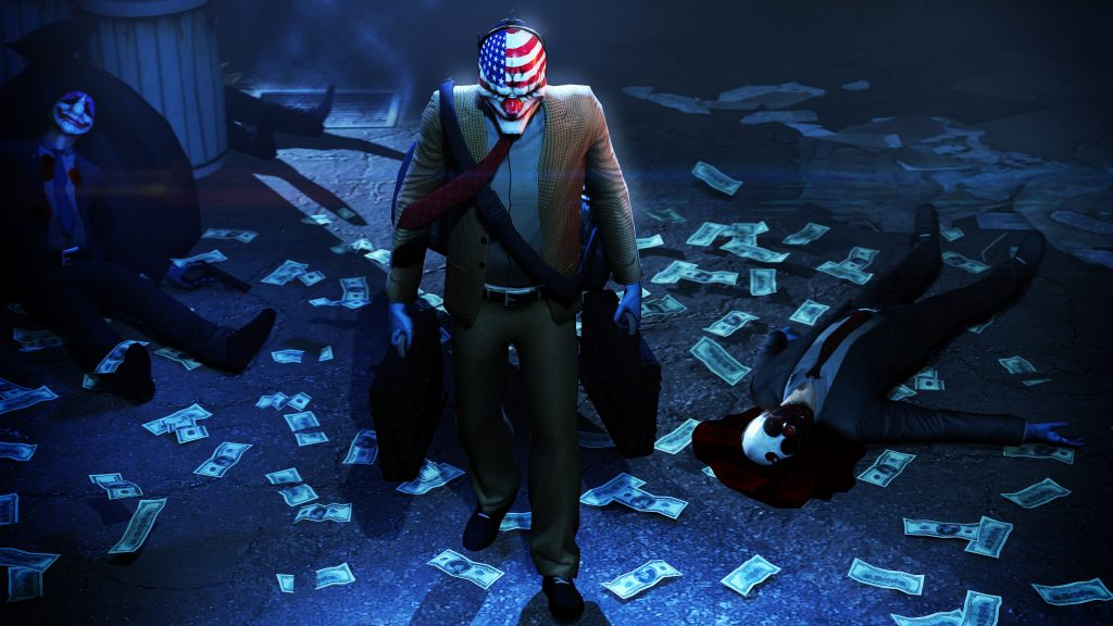 Payday 2 4K UHD Wallpaper