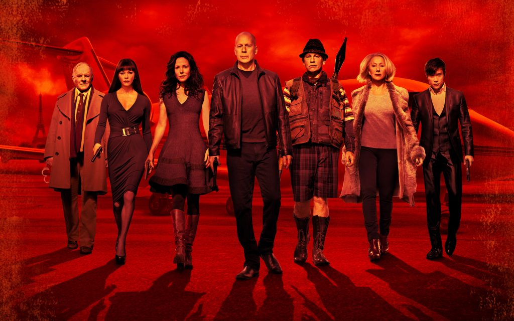 RED 2 Widescreen Background