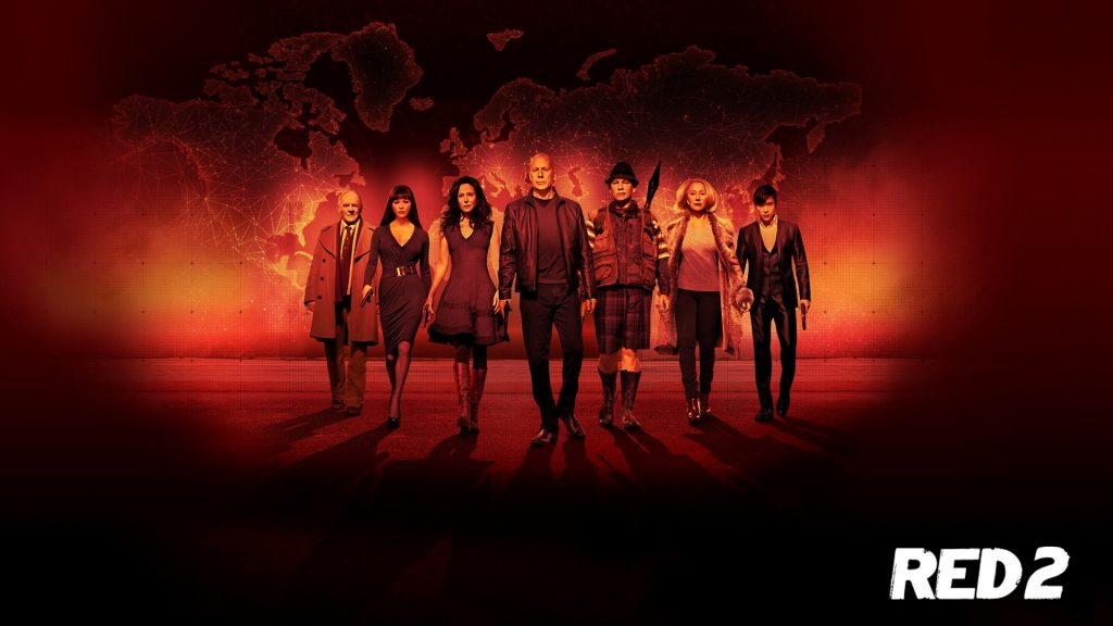 RED 2 Full HD Background