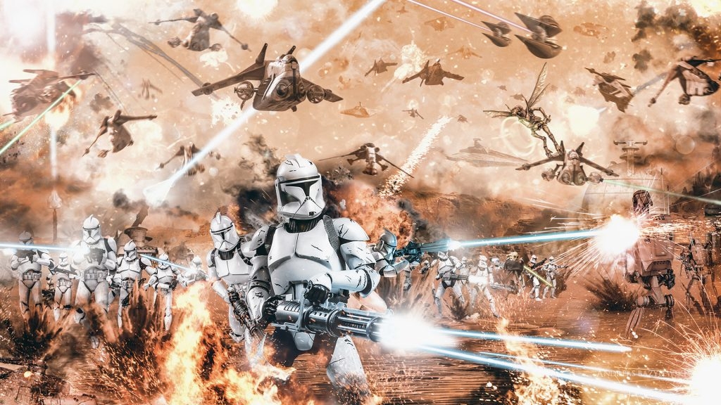 Star Wars Episode II: Attack Of The Clones Full HD Wallpaper