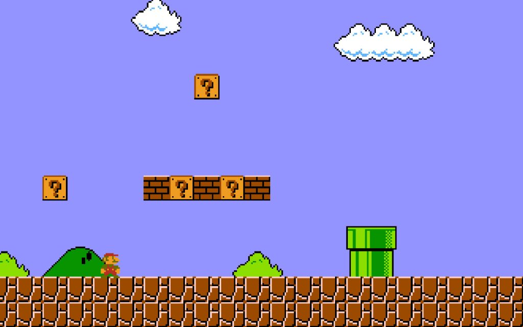 Super Mario Bros. HD Widescreen Background