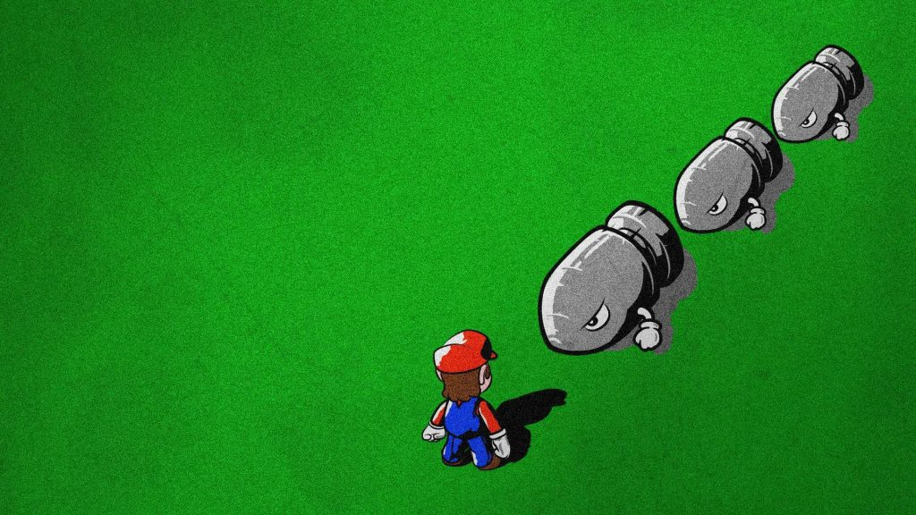 Super Mario Bros. HD Full HD Background
