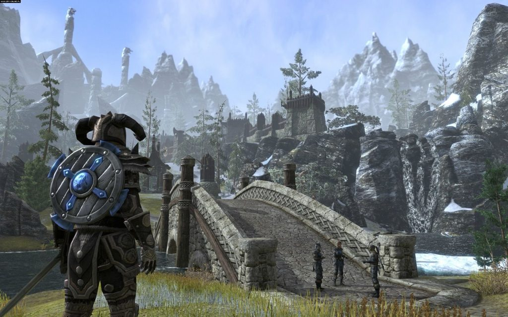 The Elder Scrolls Online Widescreen Background