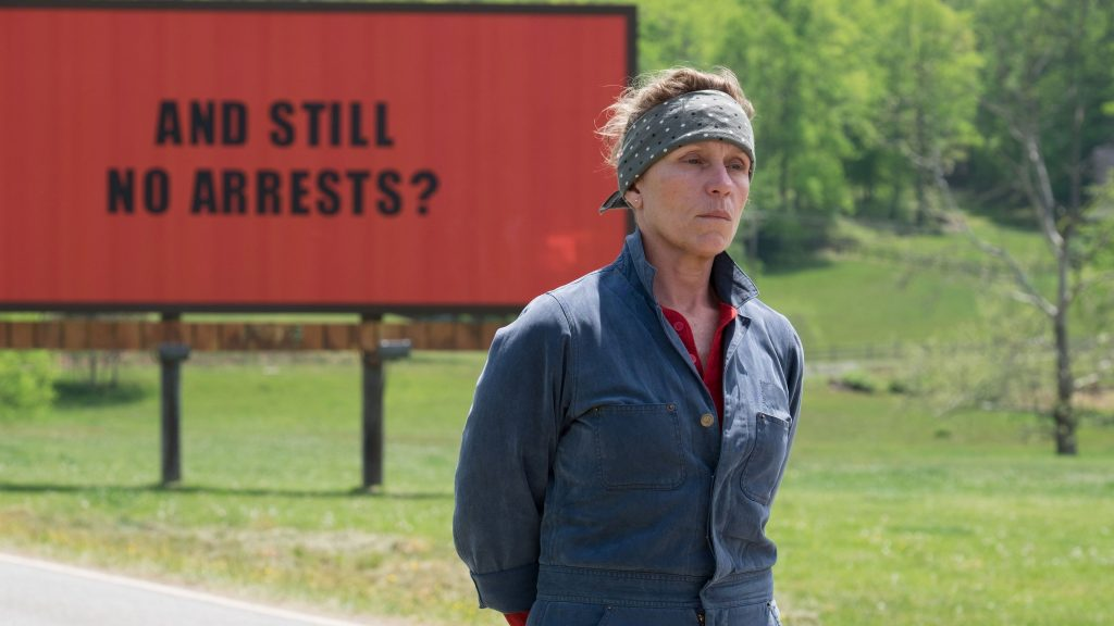 Three Billboards Outside Ebbing 4K UHD Wallpaper