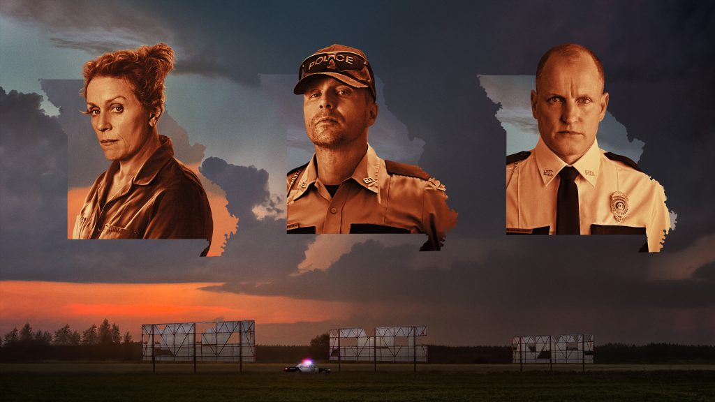 Three Billboards Outside Ebbing Full HD Wallpaper