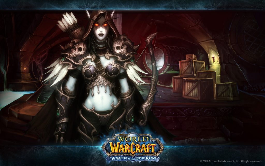 World Of Warcraft HD Widescreen Wallpaper