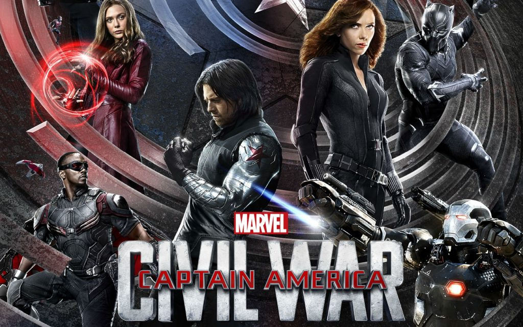 Captain America: Civil War HD Widescreen Wallpaper