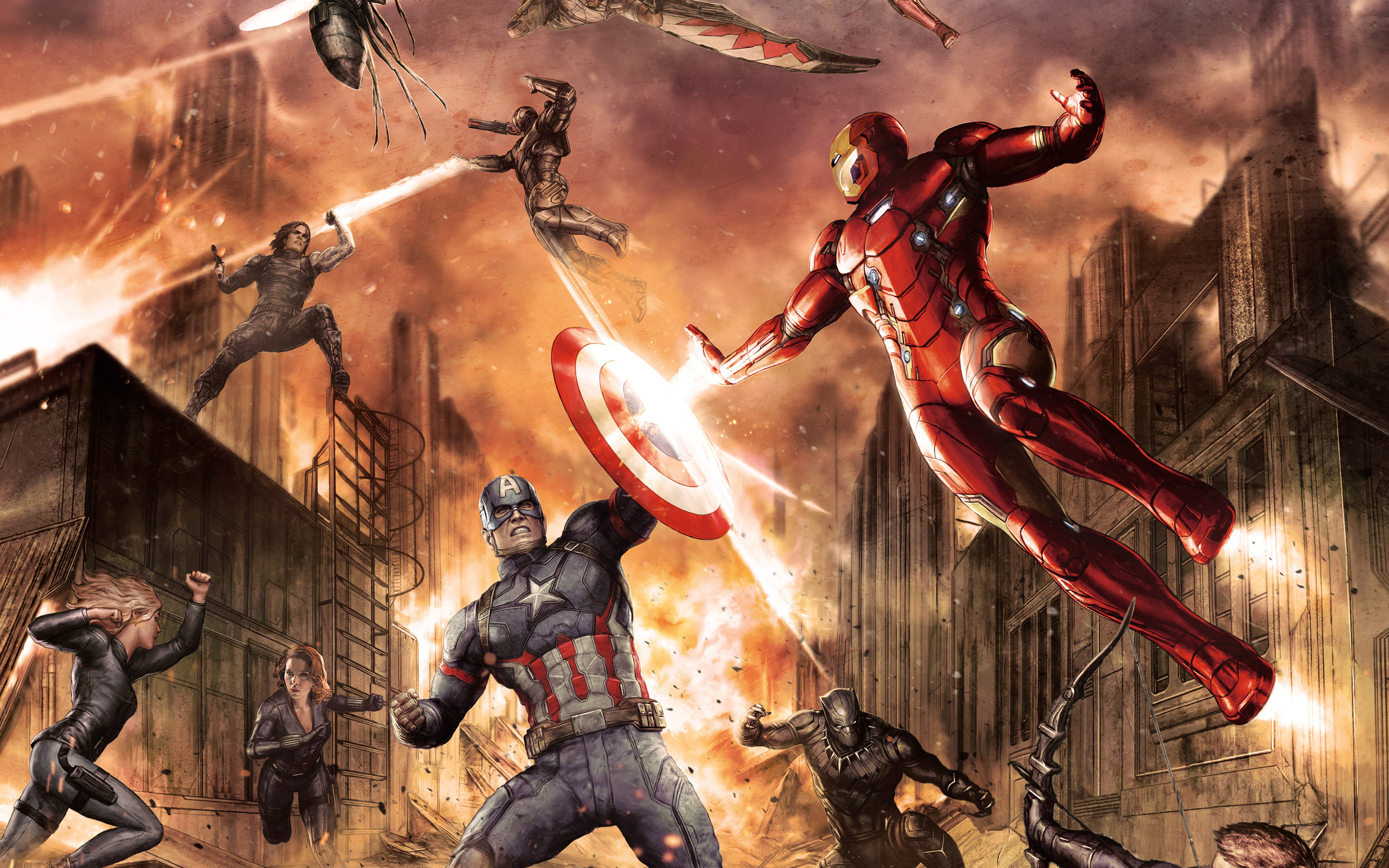Captain America Civil War Hd Wallpapers Pictures Images