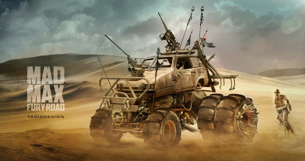 Mad Max: Fury Road HD Background