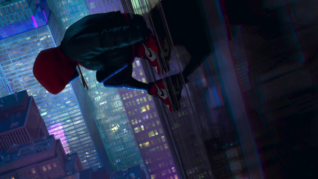 Spider-Man: Into The Spider-Verse 4K UHD Background