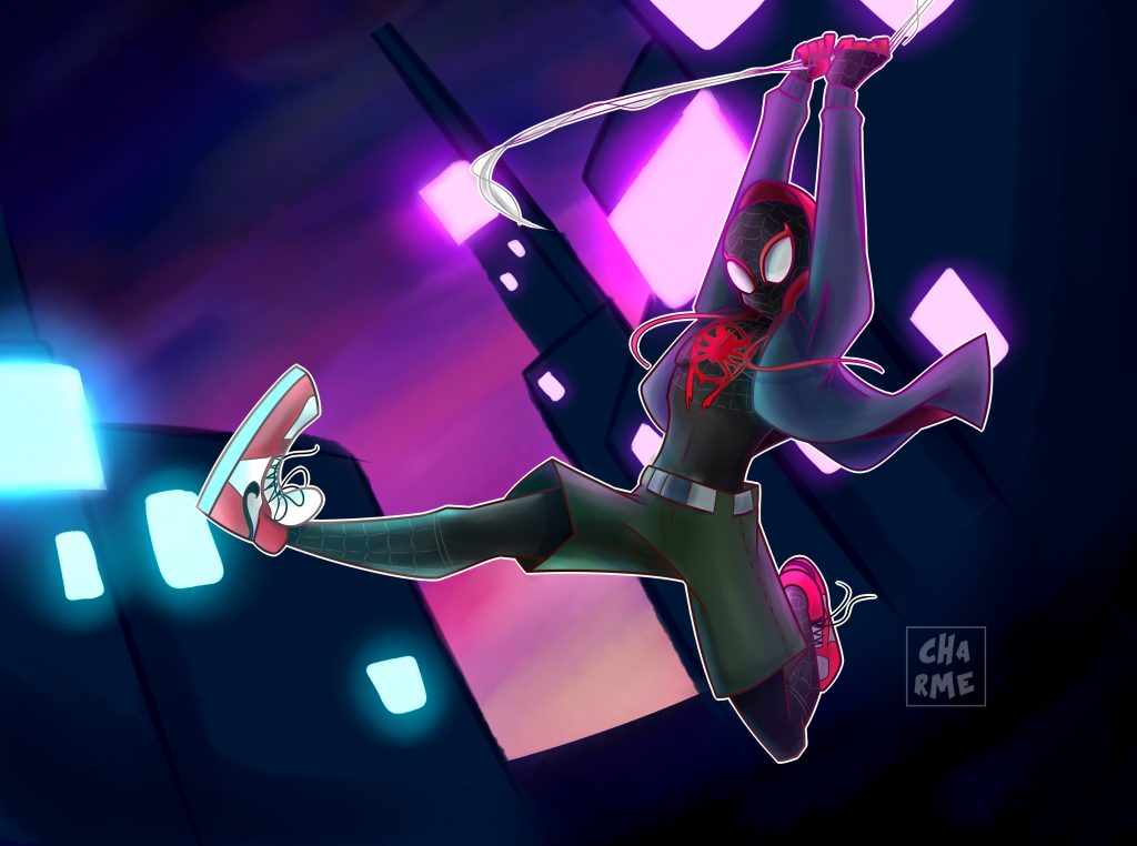 Spider-Man: Into The Spider-Verse Background