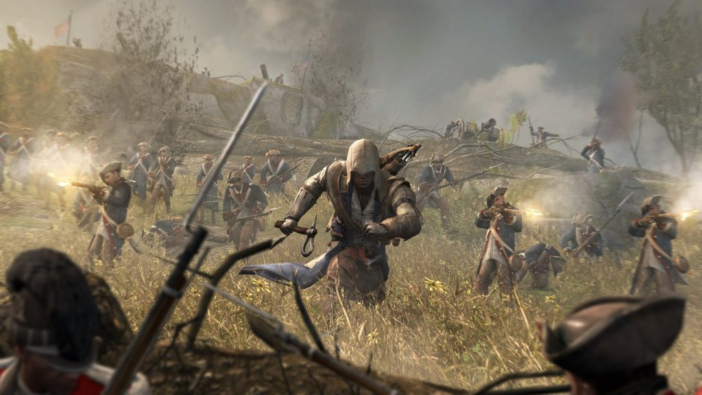 Assassin's Creed III HD Quad HD Wallpaper