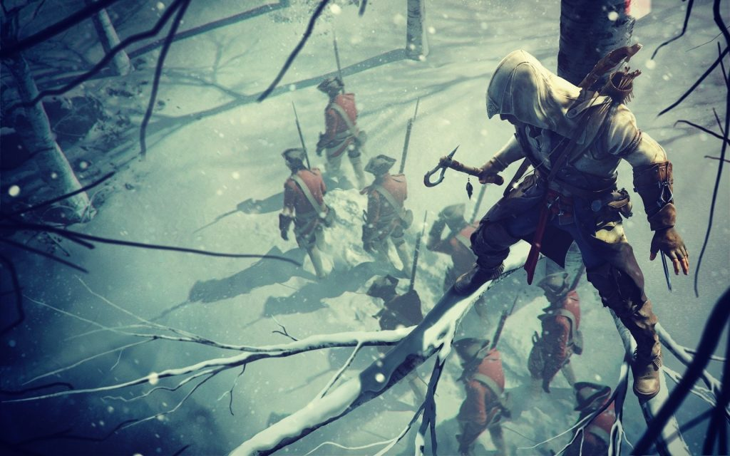 Assassin's Creed III HD Widescreen Wallpaper