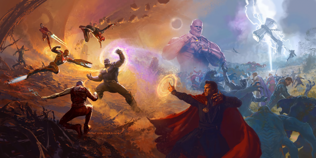 Avengers: Infinity War Background