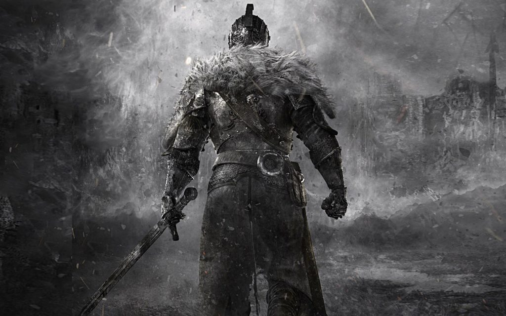 Dark Souls II Widescreen Background