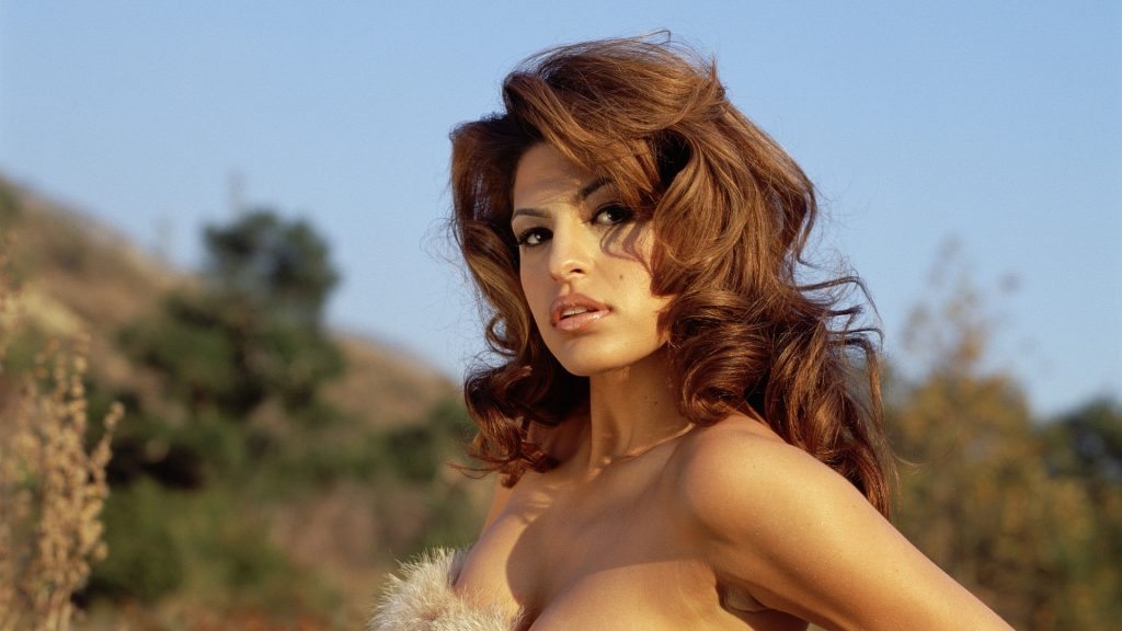 Eva Mendes Full HD Background