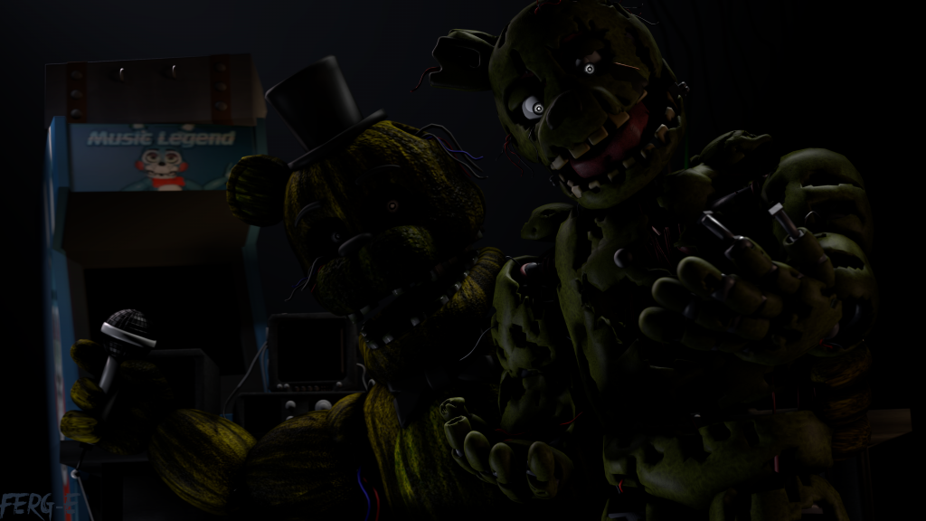 Five Nights at Freddy's 3 Wallpaper