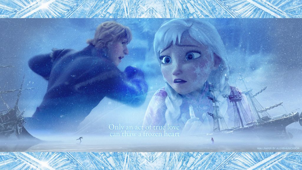Frozen HD Full HD Background