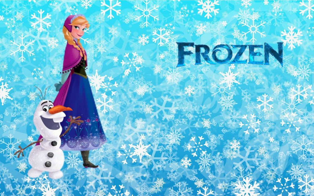 Frozen HD Widescreen Background