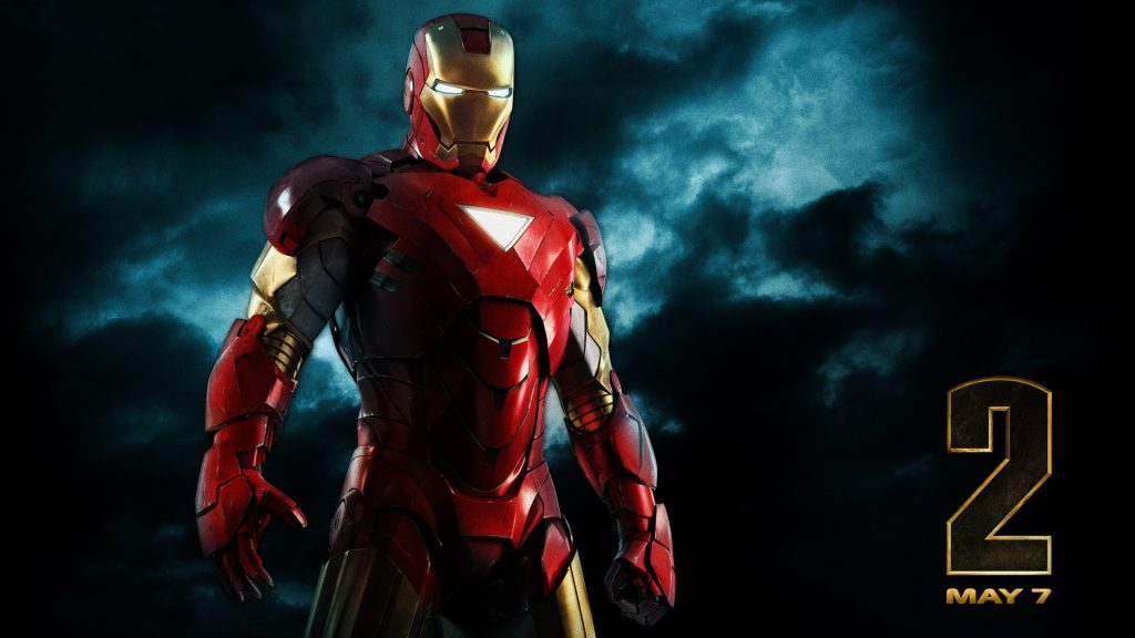 Iron Man 2 Full HD Background