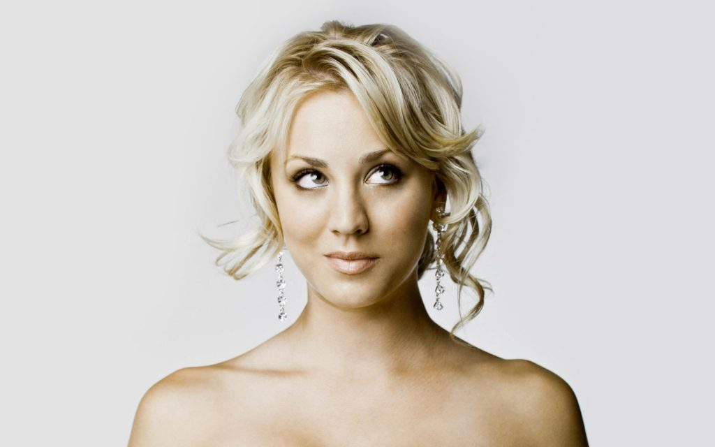 Kaley Cuoco Widescreen Background