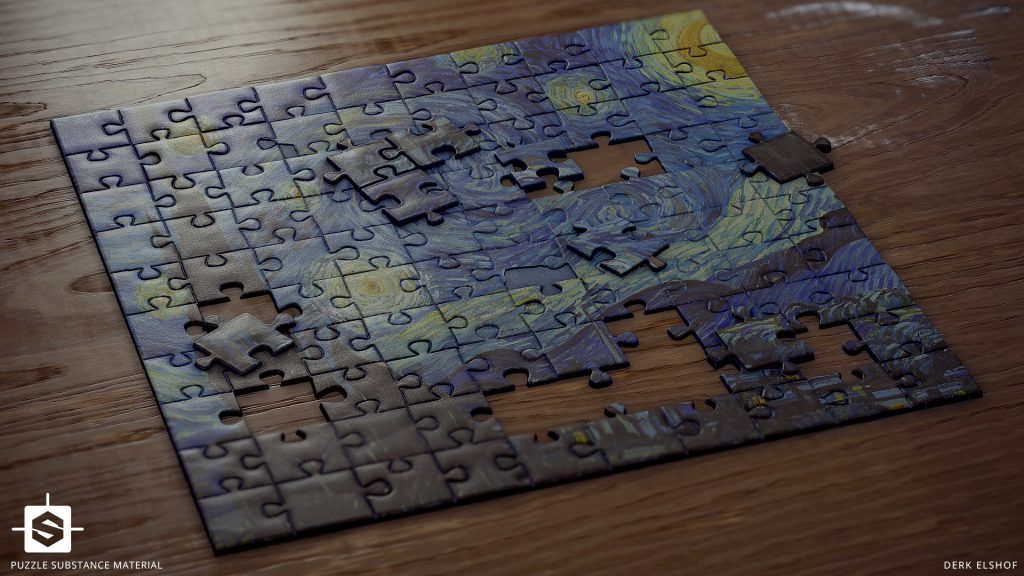 Puzzle Full HD Wallpaper