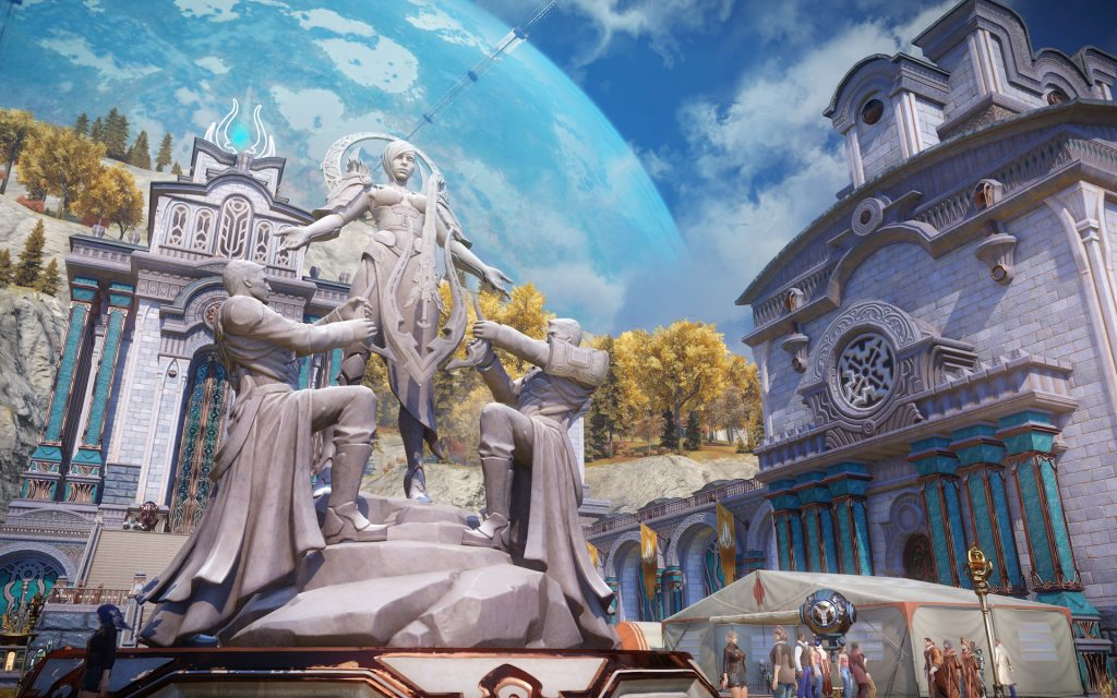 Skyforge Widescreen Wallpaper