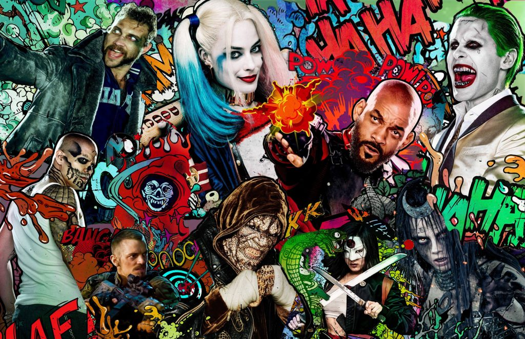 Suicide Squad HD Background