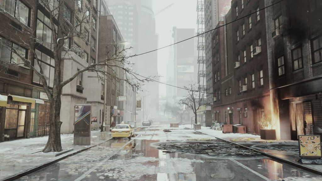Tom Clancy's The Division HD 4K UHD Background
