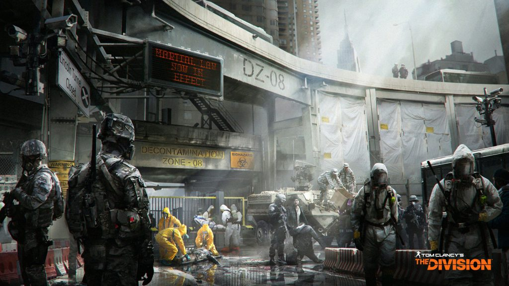 Tom Clancy's The Division HD Quad HD Background
