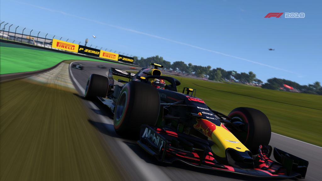 F1 2018 Quad HD Wallpaper