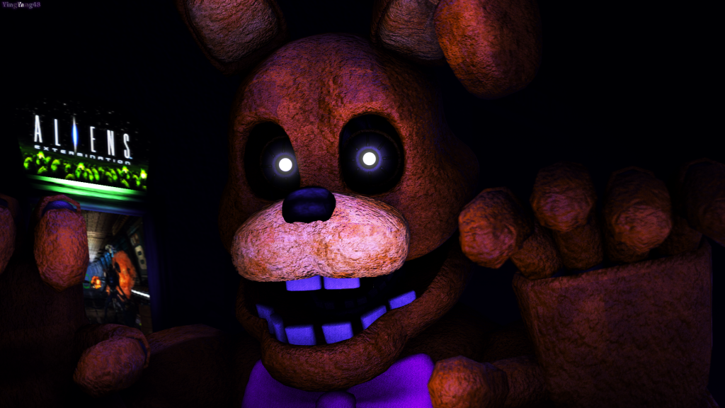 Five Nights at Freddy's 3 Full HD Background