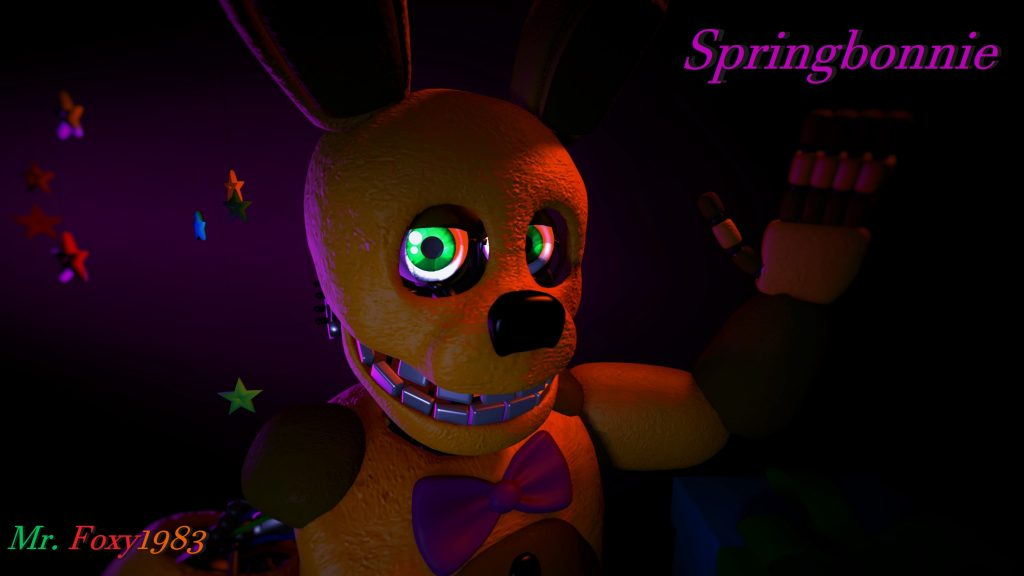 Five Nights at Freddy's 3 Quad HD Background