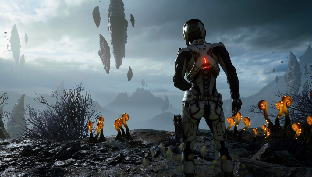 Mass Effect: Andromeda HD Background