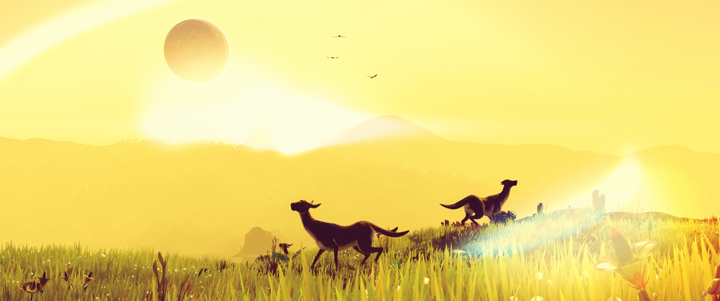 No Man's Sky HD Background