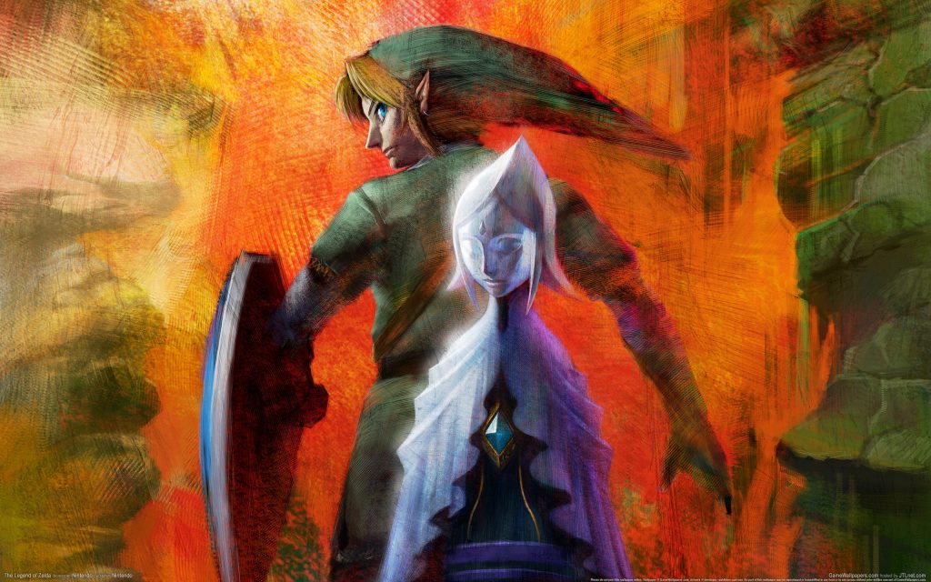 The Legend Of Zelda HD Widescreen Wallpaper